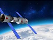 Trạm vũ trụ Trung Quốc bốc cháy khi trở lại khí quyển Trái đất