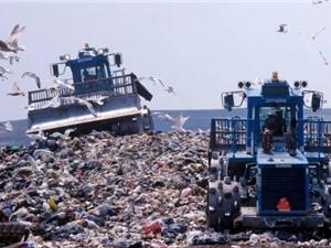 Mỹ phát triển robot tái chế rác thải