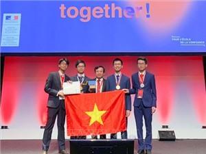 Việt Nam giành 2 huy chương vàng Olympic Hóa học quốc tế 2019