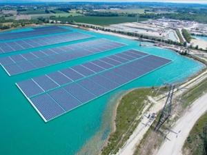 Pháp vận hành nhà máy điện Mặt trời nổi lớn nhất châu Âu