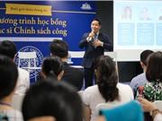 Chương trình chính sách công Đại học Fulbright đạt chuẩn quốc tế