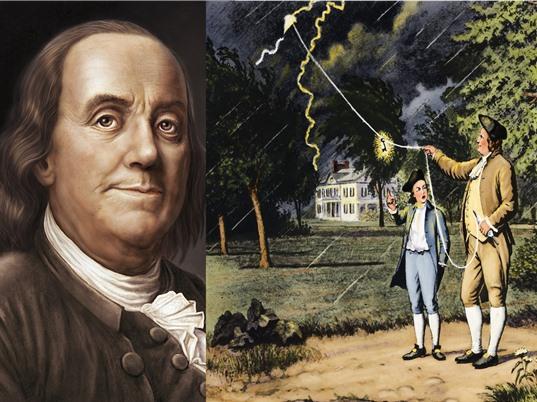 Benjamin Franklin: Người đầu tiên chế ngự tia sét