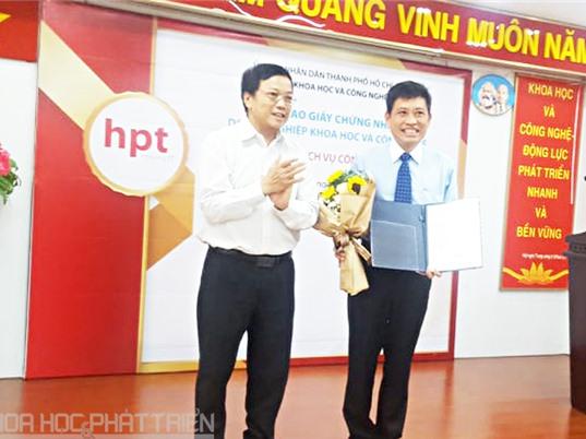 HPT được công nhận doanh nghiệp KH&CN