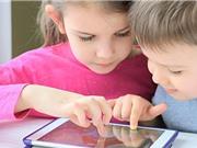Trẻ dưới 2 tuổi không nên tiếp xúc với màn hình điện tử