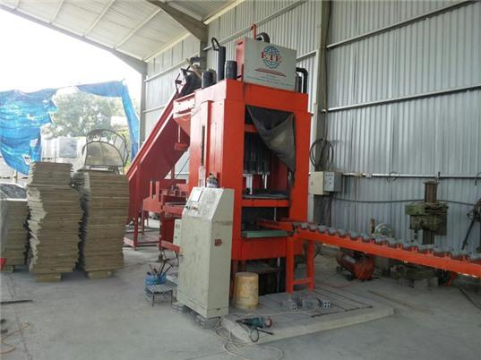 Sản xuất gạch không nung nhẹ bằng công nghệ ép tĩnh