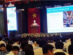 Hội nghị khoa học trẻ đầu tiên tại ĐH Công nghiệp THCM: Nhiều nghiên cứu gắn với thực tiễn