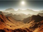 Sao Hỏa đã từng ấm áp và có nhiều mưa