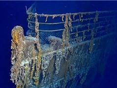 Xác tàu Titanic đang tan rã vào đại dương