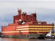Nhà máy điện hạt nhân nổi của Nga gây lo ngại