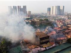 Rạng Đông sẽ mời cơ quan chuyên môn đánh giá và xử lý môi trường sau vụ cháy