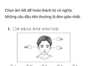 Thử sức với đề thi Tiếng Việt tại kỳ thi Đại học Hàn Quốc 2019: Nhiều câu hóc búa đánh lừa cả người Việt