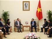 Phó Thủ tướng Vương Đình Huệ tiếp Công ty năng lượng Hoa Kỳ