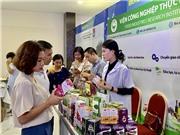 """Phô diễn hàng trăm sản phẩm công nghệ sinh học """"made in Vietnam"""" tại BioTechmart"""