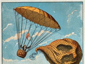 Màn nhảy dù đầu tiên trên thế giới