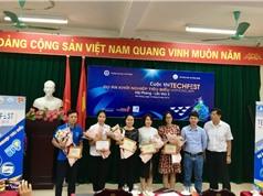 Hải Phòng chọn 5 startup dự Techfest vùng Đồng bằng Sông Hồng.