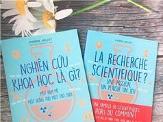 Sách về nghiên cứu khoa học cho trẻ em của cháu ngoại Marie Curie