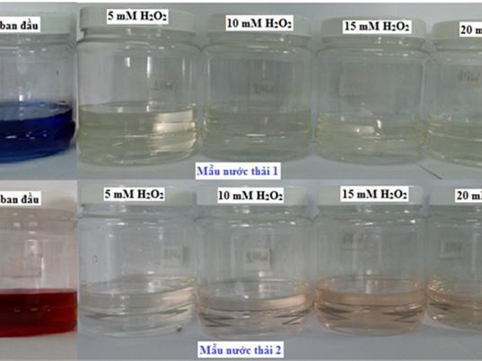 Phương pháp chiếu xạ chùm tia điện tử trong xử lý nước thải dệt nhuộm