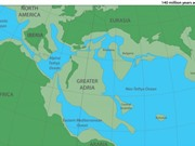 Phát hiện lục địa cổ đại nằm ẩn dưới châu Âu