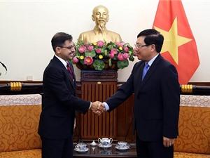 Việt Nam hết sức coi trọng quan hệ đối tác chiến lược toàn diện với Ấn Độ