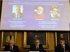 Những nhà tiên phong về vũ trụ và ngoại hành tinh giành giải Nobel vật lý 2019