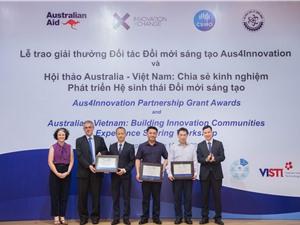 Trao tài trợ 1,6 triệu AUD cho 3 dự án hợp tác phát triển Việt Nam - Australia
