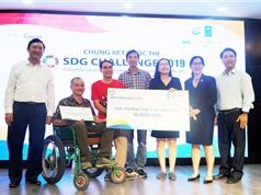 Ba giải pháp cho người khuyết tật nhận thưởng 16.000 USD