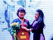 Giải thưởng Phụ nữ Việt Nam 2019: Ghi nhận vai trò phụ nữ trong khoa học