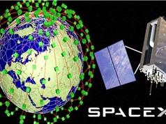 SpaceX đăng ký phóng thêm 30.000 vệ tinh để phủ sóng Internet toàn cầu