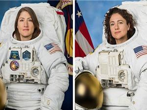 Đội nữ phi hành gia đầu tiên đi bộ ngoài không gian
