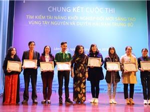 Techfest vùng Tây Nguyên và duyên hải Nam Trung Bộ: 70.000 USD quan tâm đầu tư
