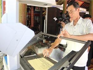Vietnamica: Cơ hội tiếp cận nguồn tư liệu lớn cho các nhà nghiên cứu văn bia