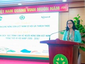 Ra mắt sách chuyên khảo nghiên cứu về nông dân Việt Nam
