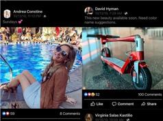 Facebook thử nghiệm tính năng xem ảnh mới giống Instagram