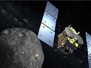 Tàu vũ trụ Nhật Bản sắp mang mẫu vật từ tiểu hành tinh về Trái đất