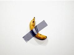 Quả chuối bình thường 'một bước lên hương' khi rơi vào tay nghệ sĩ nổi tiếng, dán lên tường thôi cũng có giá 2,78 tỷ