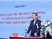 Bồi dưỡng nghiệp vụ quản lý nhà nước về KH&CN dành cho lãnh đạo Sở KH&CN
