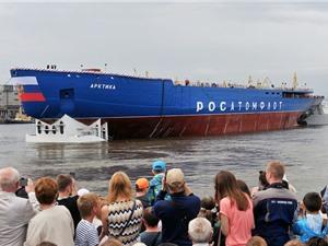 Nga chạy thử nghiệm tàu phá băng mạnh nhất thế giới