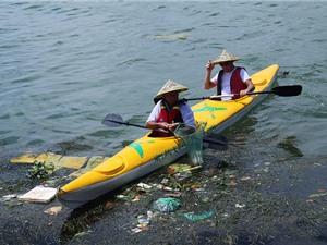 Nghiên cứu ô nhiễm rác thải nhựa trên sông: Những bước sơ khai