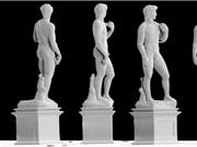 In 3D tượng David siêu nhỏ, chỉ cao 1 mm