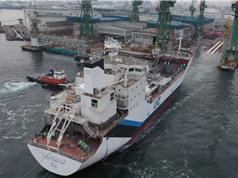 Tàu vận chuyển hydro lỏng đầu tiên trên thế giới