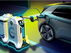 Volkswagen hé lộ robot sạc điện cho ôtô