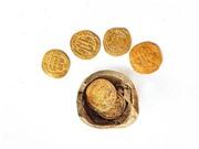 Phát hiện những đồng tiền vàng 1.200 năm tuổi tại Israel