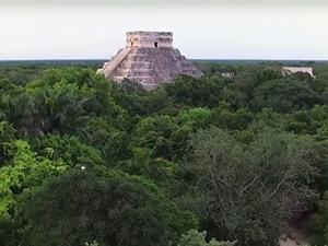 Phát hiện cung điện Maya rộng lớn ở Mexico