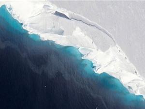 Sông băng Thwaites ở Nam Cực tan nhanh