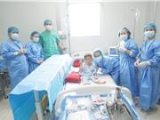 Huế: Bệnh nhi u nguyên bào thần kinh được ghép tế bào gốc ra viện
