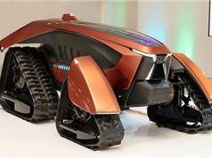 Kubota tiết lộ máy kéo tự động chạy điện