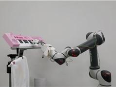 Bàn tay robot mạnh nhất thế giới chơi piano một cách mềm mại