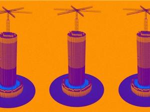 Cần trục lưu trữ năng lượng gió và mặt trời
