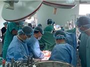 Huế: Phẫu thuật cắt gan lớn thành công cho 2 bệnh nhi ung thư nguyên bào