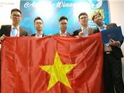 Học sinh Việt Nam giành huy chương bạc sáng chế công nghệ quốc tế